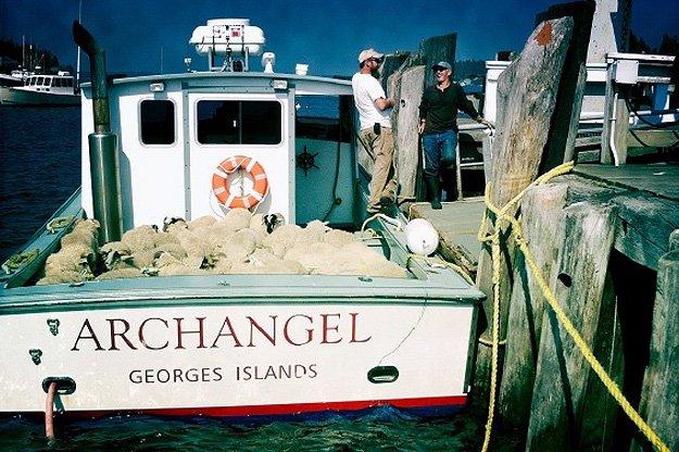 Archangel Boat Monhegan